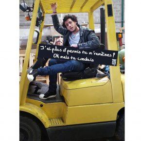 J'ai plus d'permis tu m'ramènes ? Ok mais tu conduis.
